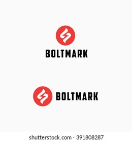 Lightning Bolt Minimal Simple Symbol. Memorable Visual Metaphor. Represents the Concept of Electricity, Power, Strength, Zeal, Enthusiasm, Speed, Fast delivery, Storm, Energy, Light, Action, Shock etc