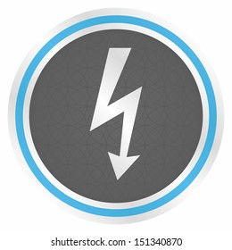 Lightning icon (Elegance blue version)