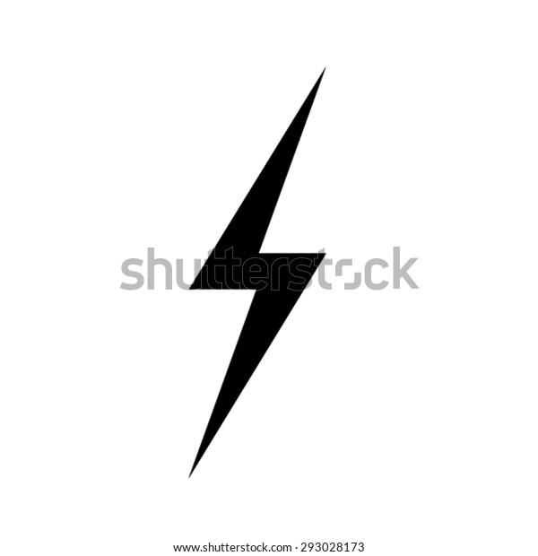 Lightning Icons Vector Eps 10 Illustration Stock Vector
