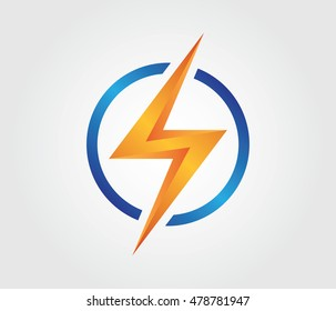 Lightning Logo For Business and Project Identity