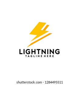 Lightning Logo Template