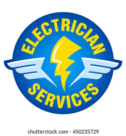 electrician logo images stock photos vectors shutterstock rh shutterstock com electrician logos images electrician logos free download