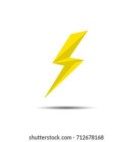 lightning yellow for web design
