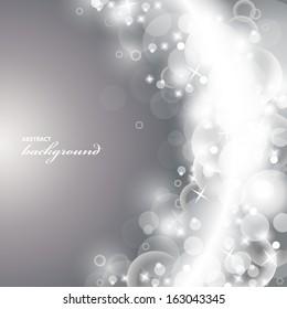 Lights On Background - Vector Illustration, Graphic Design Useful For Your Design.
