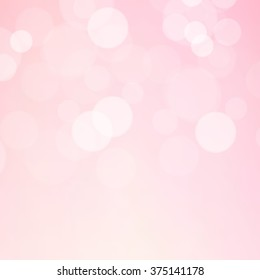 Lights on pink background - Vector