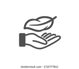 Lightweight icon. Feather quill sign. Light nib symbol. Classic flat style. Quality design element. Simple lightweight icon. Vector