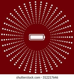 li-ion battery. icon. vector design