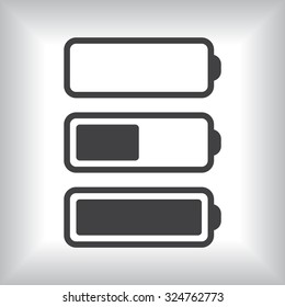 li-ion battery. icon. vector design