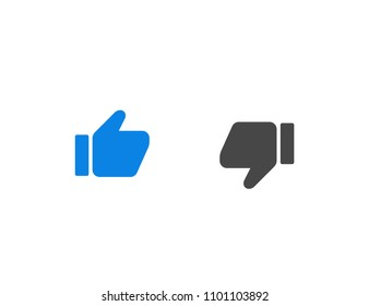 like button icon on white background