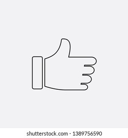like follow icon sign signifier vector