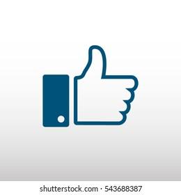 Likes Facebook Vector Stock Vectors, Images & Vector Art | Shutterstock