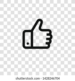 like icon from miscellaneous collection for mobile concept and web apps icon. Transparent outline, thin line like icon for website design and mobile, app development