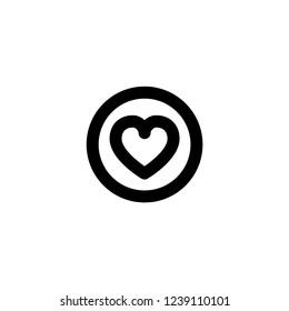 Like icon. Social media sign