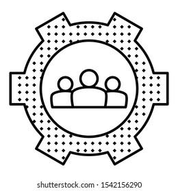 Like-Minded Entrepreneurs Vector Icon, Business alliances Design Concept