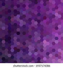 Lilac abstract geometric modern background, mosaic vector hexagon shapes, brochure template design, poster for presentation