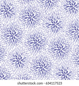 Lilac Flowers - abstract background pattern - vector eps10