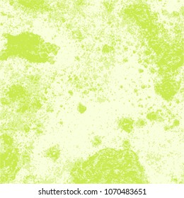 lime green rough watercolor stucco structure background pattern, vector illustration