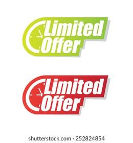 Limited Offer Labels
