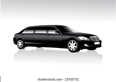 limousine black