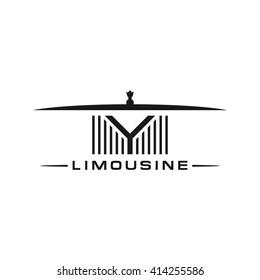limousine grill logo vector.