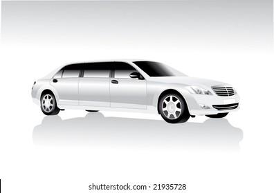 limousine white