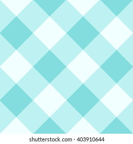 Limpet Shell Blue White Diamond Chessboard Background Vector Illustration