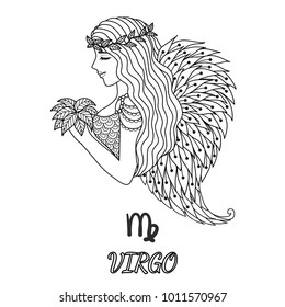 Virgo Sign Images, Stock Photos \u0026 Vectors