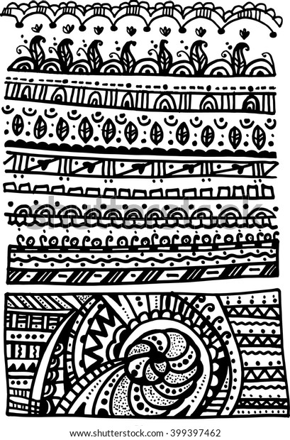 Line Art Patterns Drawing