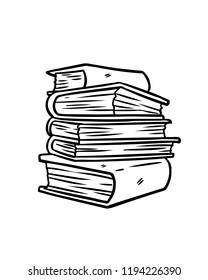 Pile Livre Stock Illustrations Images Vectors Shutterstock