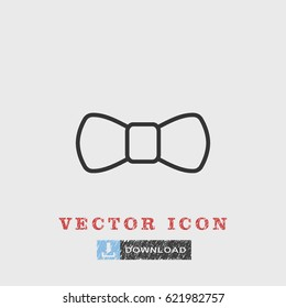 Line bowtie icon illustration isolated vector sign symbol