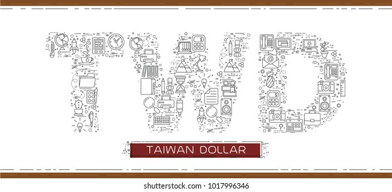 Taiwan New Dollar Icon Images Stock Photos Vectors Shutterstock