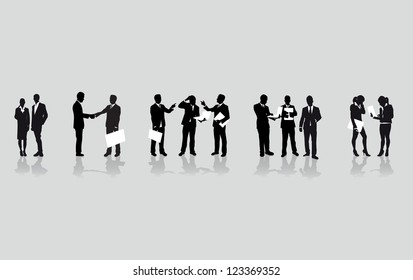 a line of business people