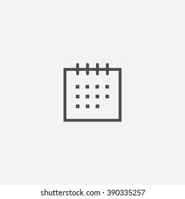 line calendar Icon