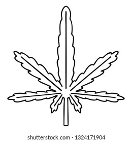 line drawing quirky cartoon marijuana