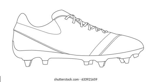 Imágenesfotos de sobre Shoes y stock Football vectores 3RLj45A