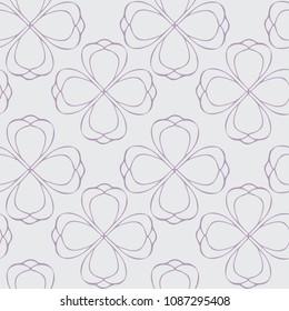 Line Floral Pattern