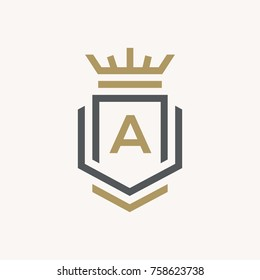 Line graphics monogram. Elegant art logo design. Letter A. Graceful template. Business sign, identity for Restaurant, Royalty, Boutique, Cafe, Hotel, Heraldic, Jewelry, Fashion. Vector elements