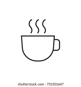Line icon. Coffee