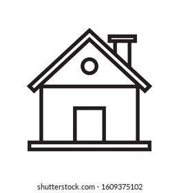 Line Icon Design, Real Estate Theme