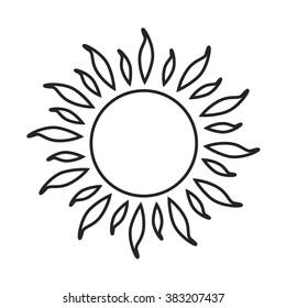 Drawing Sun Images, Stock Photos & Vectors | Shutterstock