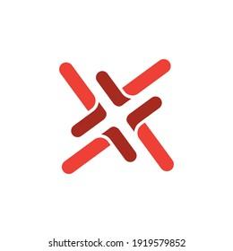 line logo design with geometry