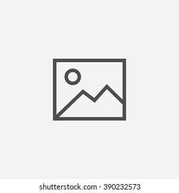 line photo Icon