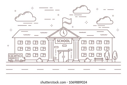 School Building Images, Stock Photos & Vectors | Shutterstock
