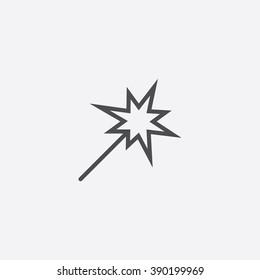 line Sparkler Icon