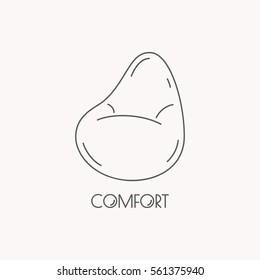 Stupendous Imagenes Fotos De Stock Y Vectores Sobre Bean Bag Furniture Machost Co Dining Chair Design Ideas Machostcouk