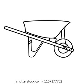line wheelbarrow equipment service industry repair