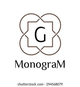 linear art deco classic luxury islamic monochrome golden minimal hipster geometric vintage vector monogram, frame, border, label, logo, badge, crest for club, bar, cafe, restaurant, hotel, boutique