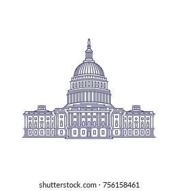 Linear Capitol Washington