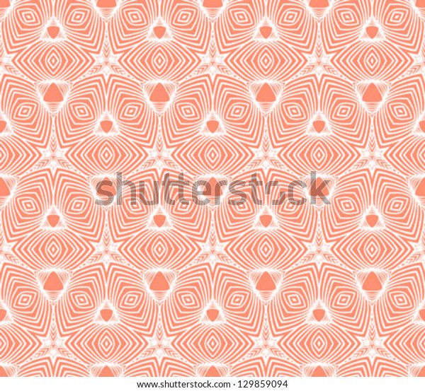 Linear Geometric Psychedelic Pattern 50s Wallpaper Stock