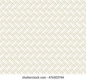 Linear grid structure. Diagonal rectangular irregular lattice. Seamless pattern